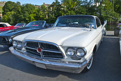 Am car meeting in halden (1960 chrysler 300 f) Stock Photos
