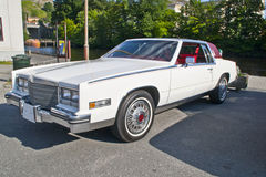 Am car meeting in halden (1984 cadillac eldorado) Royalty Free Stock Image