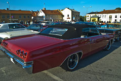 Am car meeting in Halden City Royalty Free Stock Images