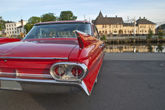 Am car meeting in Halden (classic american) Royalty Free Stock Photography