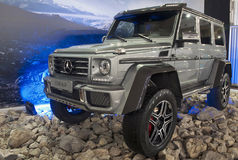 Car Mercedes G500 4X4 Royalty Free Stock Image