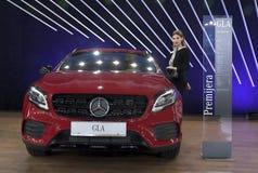Car Mercedes GLA Stock Photography