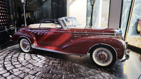 car mercedes oldtimer royalty free stock photos
