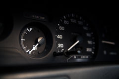 Car Mileage Royalty Free Stock Photography