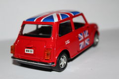 Car Mini Cooper Royalty Free Stock Photography