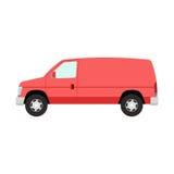 Car mini van transport vector. Stock Images