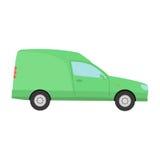 Car mini van transport vector. Stock Photo