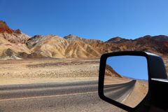 The car mirror Stock Photo