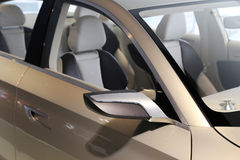Car mirror Royalty Free Stock Photo