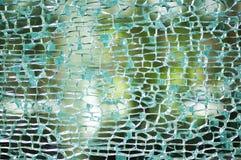Car mirror broken Stock Images