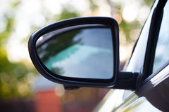 Car mirror Stock Photos