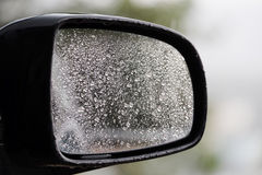 Car mirror Stock Image