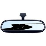 Car mirror and the road-5 Stock Images