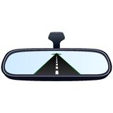 Car mirror and the road-2 Stock Photography