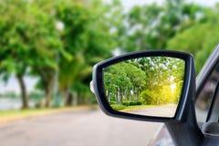 Car mirror Royalty Free Stock Image