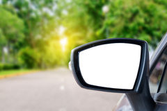 Car mirror Royalty Free Stock Photography