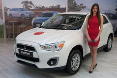 Car Mitsubishi ASX Royalty Free Stock Photography