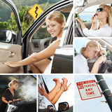 In car mix Royalty Free Stock Photography