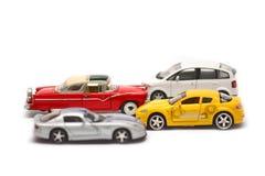 Car models, children toys, selective focus Stock Photo