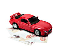 Car money Royalty Free Stock Images