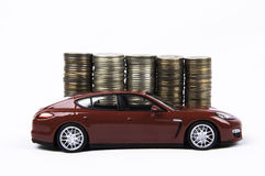 Car&Money стоковое фото