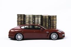 Car&Money Stockfoto