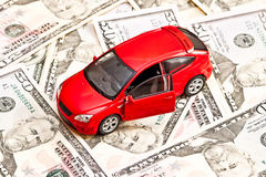 Car and money Royalty Free Stock Image