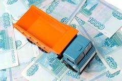 Car and money Stock Photos