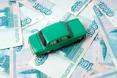 Car and money Stock Photos