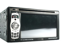 Car monitor. These are the car monitor with dvd player Royalty Free Stock Photos