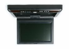 Car monitor and dvd player Stock Photo
