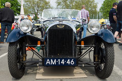 Car Morgan, F-Series three-wheelers Royalty Free Stock Photo