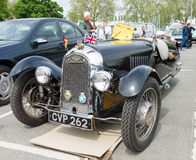 Car Morgan, F-Series three-wheelers Royalty Free Stock Photos