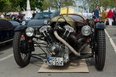 Car Morgan Super Sports, V-Twin three-wheelers Stock Images