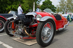 Car Morgan, V-Twin three-wheelers Stock Image