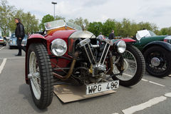 Car Morgan, V-Twin three-wheelers Royalty Free Stock Photos