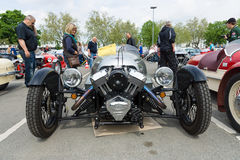 Car Morgan 3, V-Twin three-wheelers Royalty Free Stock Image