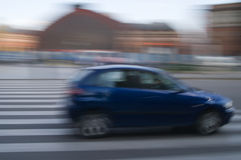 Car motion Royalty Free Stock Photo
