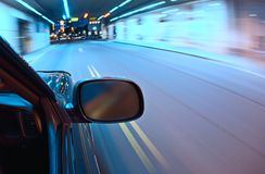 Car motion blur Royalty Free Stock Photo