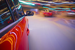 Car Motion Blur Royalty Free Stock Image