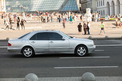 Car in motion Royalty Free Stock Photography