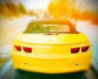 Car in the motion Royalty Free Stock Photos