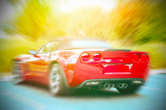 Car in the motion Royalty Free Stock Photo