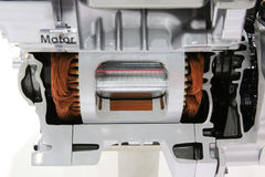Car motor Stock Images