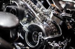 Car Motor Machine Engine. Photo Royalty Free Stock Photos
