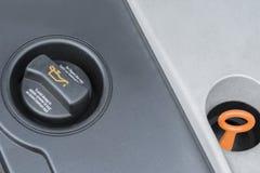 Car motor oil cap Stock Image