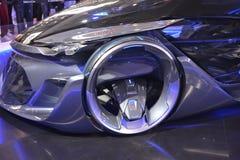 Car, Motor Vehicle, Blue, Auto Show royalty free stock image