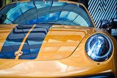 Car, Motor Vehicle, Blue, Yellow Royalty Free Stock Photo
