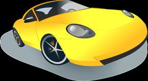 Car, Motor Vehicle, Yellow, Automotive Design stock images