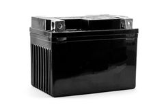 Car and motorbike battery Royalty Free Stock Image